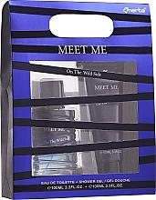 Parfums et Produits cosmétiques Omerta Meet Me On The Wild Side - Set (eau de toilette/100ml +gel douche/100ml)