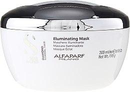 Parfums et Produits cosmétiques Alfaparf Illuminating Mask - Masque éclaircissant au beurre de karité et grains de lin pour les cheveux
