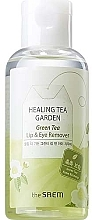 Parfums et Produits cosmétiques Démaquillant au thé vert pour yeux et lèvres - The Saem Healing Tea Garden Green Tea Lip & Eye Remover