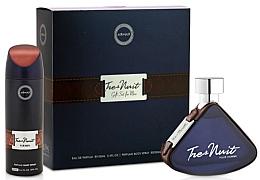 Parfums et Produits cosmétiques Armaf Tres Nuit - Coffret cadeau (eau de parfum/100ml + déodorant/200ml)