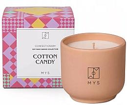 Parfums et Produits cosmétiques Bougie de soja, Barbe à papa - Mys Cotton Candy Candle
