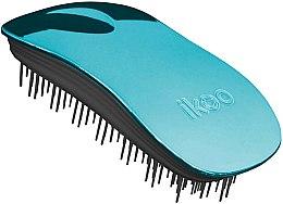 Parfums et Produits cosmétiques Brosse à cheveux démêlante - Ikoo Home Pacific Metallic Black