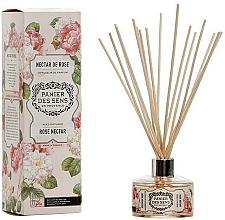 Parfums et Produits cosmétiques Bâtonnets parfumés, Nectar de rose - Panier Des Sens Rose Nectar Reed Diffuser