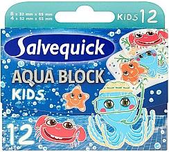 Parfums et Produits cosmétiques Pansements - Salvequick Aqua Block Kids Slices
