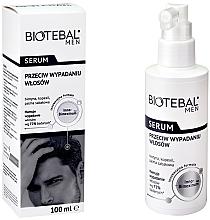 Parfums et Produits cosmétiques Sérum à l'huile de menthe poivrée et biotine pour cheveux - Biotebal Men Serum