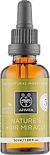 Parfums et Produits cosmétiques Huile fortifiante à la propolis et 5 huiles pour cheveux - Apivita Nature's Hair Miracle