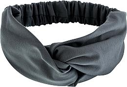 Parfums et Produits cosmétiques Bandeau pour cheveux, gris, Knit Twist - MakeUp Hair Accessories