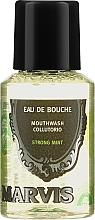 Parfums et Produits cosmétiques Bain de bouche à la menthe (mini) - Marvis Concentrate Strong Mint Mouthwash