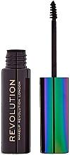 Parfums et Produits cosmétiques Mascara à sourcils à l'huile de graines de chanvre - Makeup Revolution Brow Mascara With Cannabis Sativa