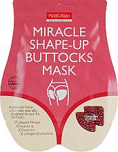 Parfums et Produits cosmétiques Masque tissu à l'extrait de pêche pour fessier - Purederm Miracle Shape-Up Buttocks Mask