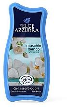 Parfums et Produits cosmétiques Désodorisant en gel - Felce Azzurra Gel Air Freshener White Musk