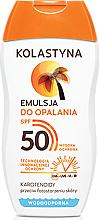 Parfums et Produits cosmétiques Émulsion solaire waterproof pour corps SPF50 - Kolastyna