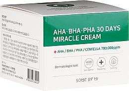 Parfums et Produits cosmétiques Crème restructurante pour visage - Some By Mi AHA/BHA/PHA 30 Days Miracle Cream
