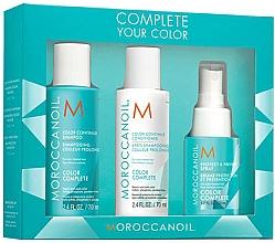 Parfums et Produits cosmétiques Moroccanoil Travel Kit Color Complete - Set (shampooing/70ml + après-shampooing/70ml + brume protectrice/50ml)