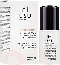 Parfums et Produits cosmétiques Sérum anti-âge à l'acide hyaluronique pour le visage - Usu Anti-Aging Serum