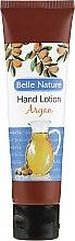 Parfums et Produits cosmétiques Crème pour les mains à l'huile d'argan - Belle Nature Hand Lotion Argan