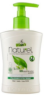 Savon liquide à l'extrait de thé vert, bouleau et aloès - Winni's Naturel Liquid Hand Soap Mani The Verde — Photo N1