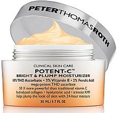 Parfums et Produits cosmétiques Crème aux vitamines C et E pour visage - Peter Thomas Roth Potent-C Bright & Plump Moisturizer