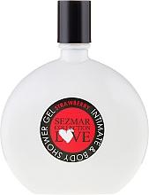 Parfums et Produits cosmétiques Gel d'hygiène intime Fraise - Sezmar Collection Love Strawberry Intimate & Body Shower Gel