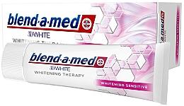 Parfums et Produits cosmétiques Dentifrice blachissant - Blend-a-Med 3D White Whitening Therapy Sensitive