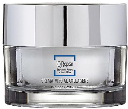 Crème au collagène pour visage - Fontana Contarini iQ Repair Collagen Face Cream