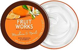 Parfums et Produits cosmétiques Beurre à l'huile d'argan pour corps - Grace Cole Fruit Works Body Butter Mandarin & Neroli