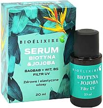Parfums et Produits cosmétiques Sérum à l'huile de jojoba pour cheveux - Bioelixire Serum Biotin & Jojoba