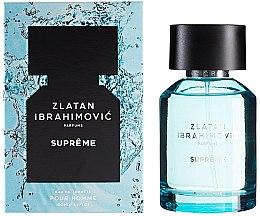 Parfums et Produits cosmétiques Zlatan Ibrahimovic Supreme Pour Homme - Eau de toilette