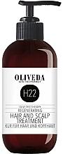 Parfums et Produits cosmétiques Traitement à l'huile d'olive pour cheveux et cuir chevelu - Oliveda H22 Hair and Scalp Treatment