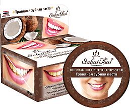 Parfums et Produits cosmétiques Dentifrice aux herbes et à la noix de coco - Sabai Thai Herbal Coconut Toothpaste