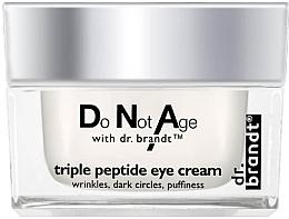 Parfums et Produits cosmétiques Crème anti-rides aux peptides pour contour des yeux - Dr. Brandt Triple Peptide Eye Cream