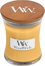 Parfums et Produits cosmétiques Bougie parfumée avec mèche en bois, Fleur d'avoine - WoodWick Oat Flower Candle