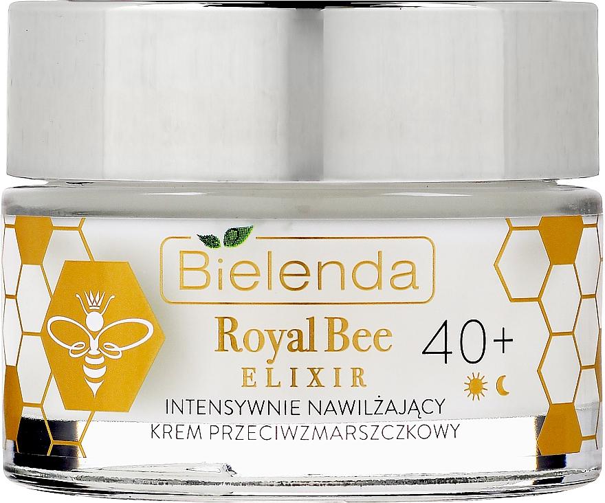 Crème à l'huile d'avocat pour visage - Bielenda Royal Bee Elixir 40+ Anti-Wrinkle Moisturizing Cream