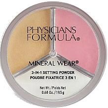Parfums et Produits cosmétiques Poudre fixatrice pour visage - Physicians Formula Mineral Wear 3-In-1 Setting Powder