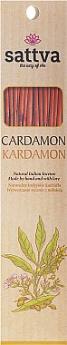 Bâtons d'encens Cardamome - Sattva Kardamon