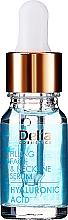 Parfums et Produits cosmétiques Sérum à l'acide hyaluronique pour visage - Delia Face Care Hyaluronic Acid Face Neckline Intensive Serum