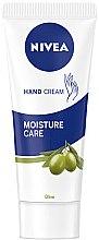 Parfums et Produits cosmétiques Crème à l'olive pour mains - Nivea Hand Cream Moisture Care Olive