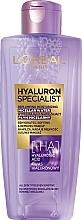 Parfums et Produits cosmétiques Eau micellaire à l'acide hyaluronique - L'Oreal Paris Hyaluron Expert
