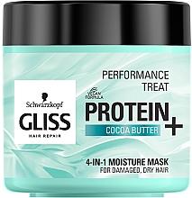 Parfums et Produits cosmétiques Masque au beurre de cacao pour cheveux - Schwarzkopf Gliss Kur Performance Treat