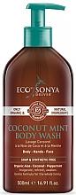 Parfums et Produits cosmétiques Gel douche à l'huile de coco et menthe - Eco by Sonya Coconut Mint Body Wash