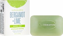 Parfums et Produits cosmétiques Savon naturel, Bergamote et Citron vert - Schmidt's Naturals Bar Soap Bergamot Lime