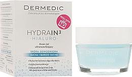 Parfums et Produits cosmétiques Crème-gel à l'acide hyaluronique et vitamine E pour visage - Dermedic Hydrain3 Hialuro