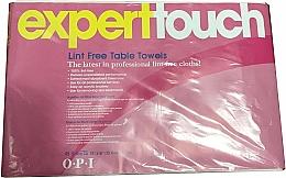 Parfums et Produits cosmétiques Serviettes jetables non pelucheuses - O.P.I. Expert Expert Touch Table Towels