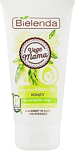 Crème-gel aux vitamines pour pieds - Bielenda Vege Mama Cream Foot Gel — Photo N1