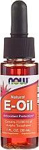Parfums et Produits cosmétiques Huile à la vitamine E - Now Foods Oil