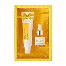 Parfums et Produits cosmétiques iUNIK Propolis Vitamin Eye Cream Set - (crème yeux/30ml + sérum/15ml)