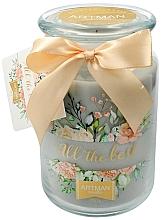 Parfums et Produits cosmétiques Bougie parfumée en jarre, 10 x 16 cm - Artman All the Best
