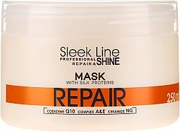 Parfums et Produits cosmétiques Masque aux protéines de soie pour cheveux - Stapiz Sleek Line Repair Hair Mask