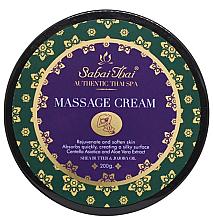 Parfums et Produits cosmétiques Crème de massage à l'huile de sons de riz et à l'aloès - Sabai Thai Jasmine Massage Cream