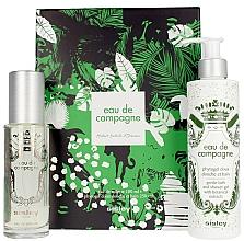 Parfums et Produits cosmétiques Sisley Eau De Compaigne Jungle Gift Set - Coffret (eau de toilette/100ml + gel bain et douche/250ml)
